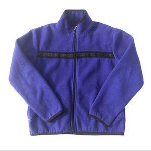 Vintage Calvin Klein Fleece Zip Up Sweater